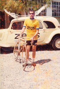 Antonio Bonacho con el Equipo Ciclista Zeus