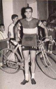 Antonio con el Equipo Ciclista Ferrys