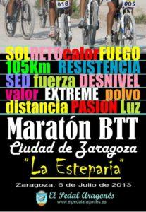 Maratón BTT La Esteparia 2013