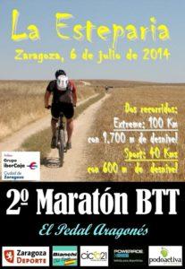 Maratón BTT La Esteparia 2014