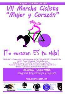 VII Marcha ciclista Mujer y Corazón