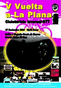 V Vuelta a la Plana - Cicloturista Invernal BTT