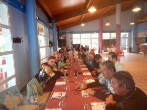 Almuerzo en Montecanal