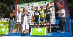 Dario Gadeo, se adjudico la victoria en la Vuelta Ciclista Aragón Bearn