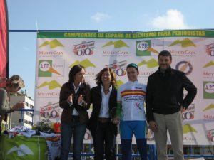 Silvia Tirado vence en el Nacional de Periodistas 2011
