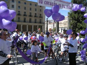 Marcha Urbana Mujer y Corazón