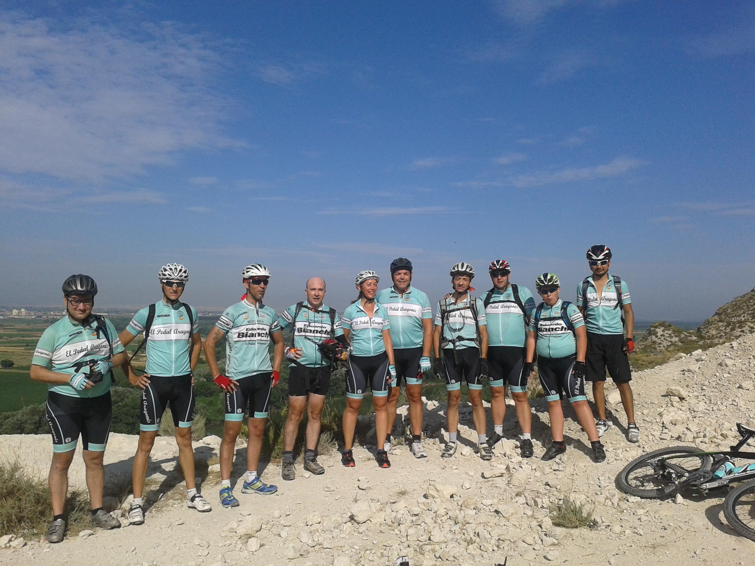 Grupo del pedal btt