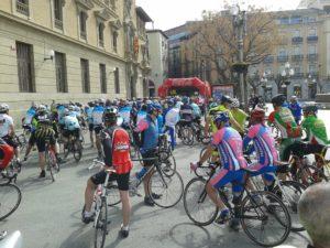 Saliendo de Huesca
