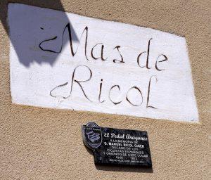Homenaje a Manuel Ricol Giner