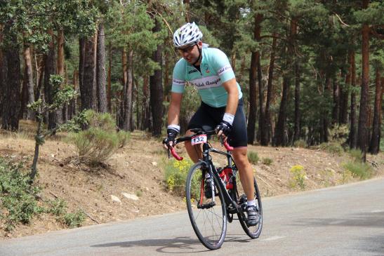 Daniel Díaz, socio de El Pedal Aragonés